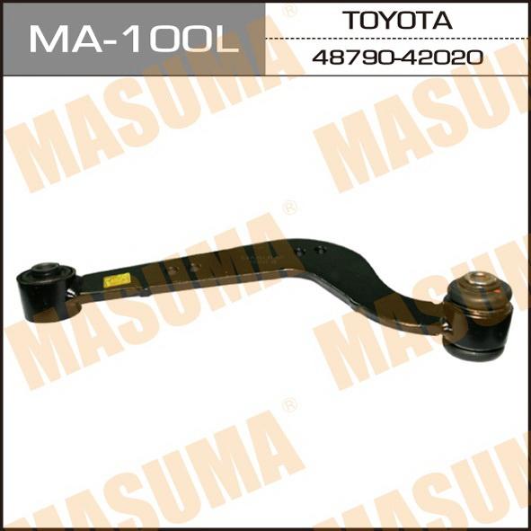 Рычаг верхний  Masuma  rear up RAV4, VANGUARD/ ACA3#, GSA33 (L) (1/20). (MA-100L)