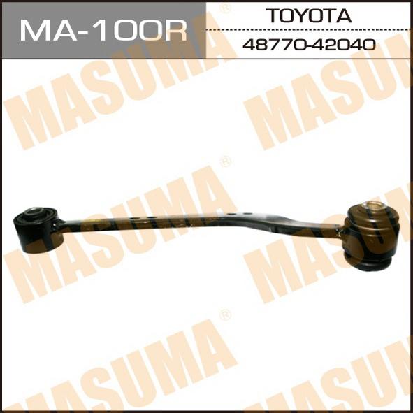 Рычаг верхний  Masuma  rear up RAV4, VANGUARD/ ACA3#, GSA33 (R) (1/20). (MA-100R)