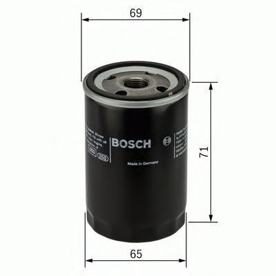 МАСЛЯНЫЙ ФИЛЬТР. Bosch (F026407001)