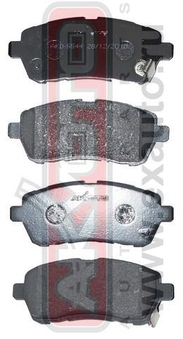 Колодки тормозные дисковые передние. AKYOTO (AKD5544)