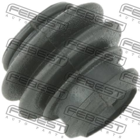 Пыльник втулки направляющей суппорта тормозного переднего. Febest (2273-CERIIF)