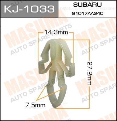 Покер пластм.крепежный  Masuma  1033-KJ (уп.50шт). (KJ-1033)