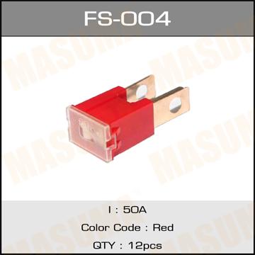 Предохр. MASUMA Силовой 50А (П) (уп.12шт). (FS-004)