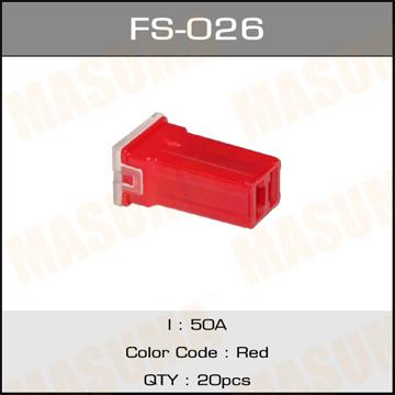 Предохр. MASUMA Силовой mini 50А (уп.20шт). (FS-026)