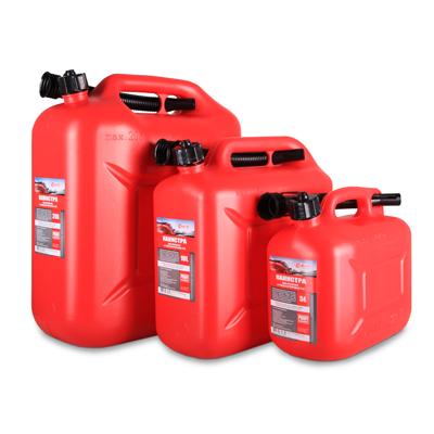 3ton Канистра 10л КРАСНАЯ для топлива в комплекте с крышкой и лейкой. 3Ton (55298)