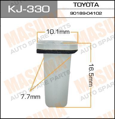 Покер пластм.крепежный  Masuma  330-KJ (уп.50шт). (KJ-330)