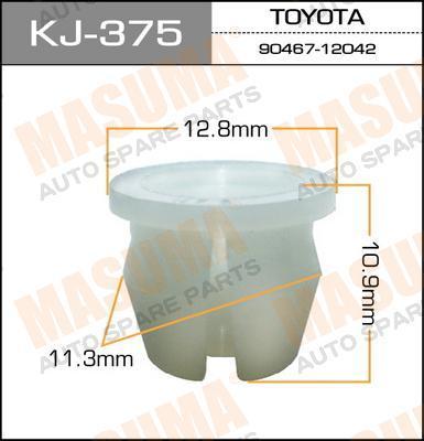 Покер пластм.крепежный  Masuma  375-KJ (уп.50шт). (KJ-375)