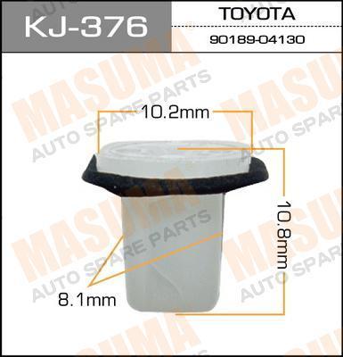Покер пластм.крепежный  Masuma  376-KJ (уп.50шт). (KJ-376)