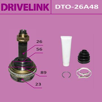 ШРУС DRIVELINK 23x56x26x48 (1/10). (DTO-26A48)