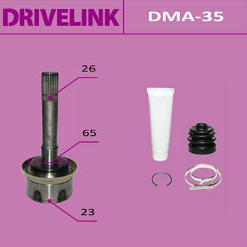 ШРУС DRIVELINK 23x65x26 (1/10). (DMA-35)