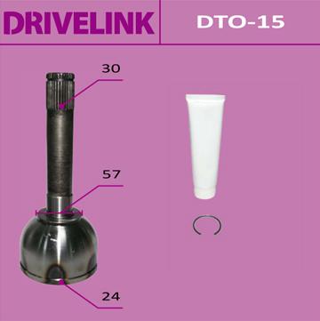 ШРУС DRIVELINK 24x59x30 (1/10) пыльник не требуется. (DTO-15)