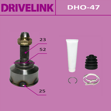 ШРУС DRIVELINK 25x52x23 (1/10). (DHO-47)