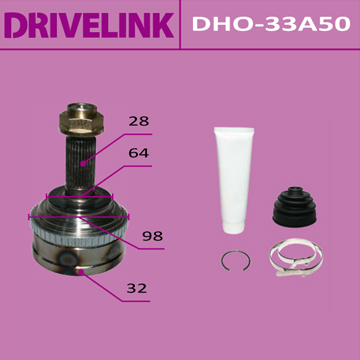 ШРУС DRIVELINK 32x64x28x50 (1/10). (DHO-33A50)