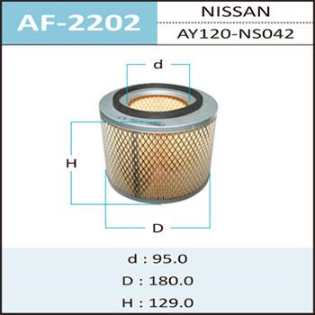 Воздушный фильтр A- HEPAFIX (1/12). (AF-2202)