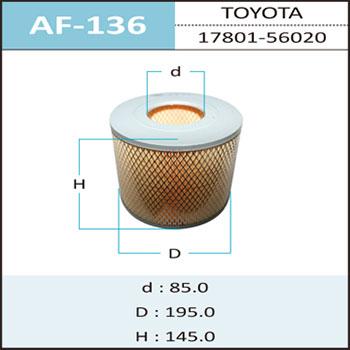 Воздушный фильтр A-136 HEPAFIX. (AF-136)