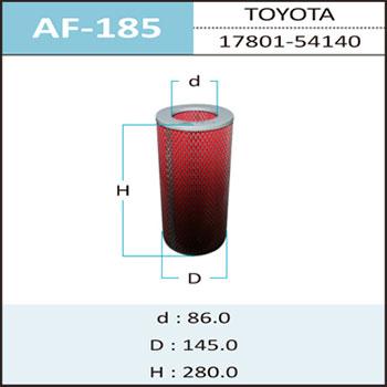 Воздушный фильтр A-185 HEPAFIX (1/24). (AF-185)