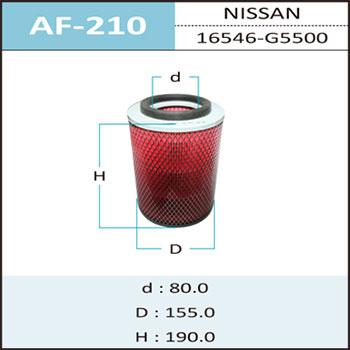 Воздушный фильтр A-210 HEPAFIX (1/18). (AF-210)