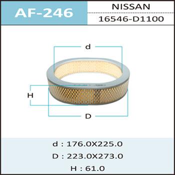 Воздушный фильтр A-246 HEPAFIX (1/30). (AF-246)