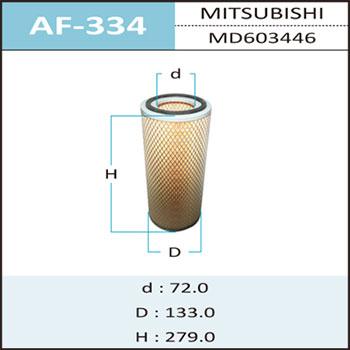 Воздушный фильтр A-334 HEPAFIX (1/12). (AF-334)