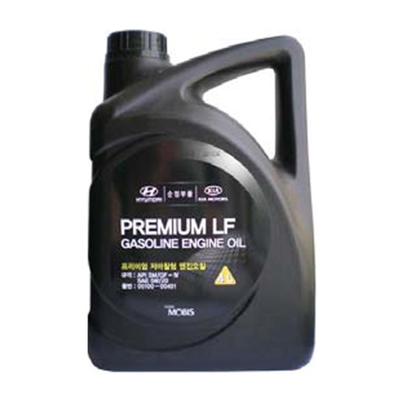 Масло мотор. Hyundai/Kia Prem LF Gas 5W20 SM/GF-4 (4л). (0510000451)