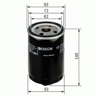 МАСЛЯНЫЙ ФИЛЬТР (Mann W 940/66). Bosch (F026407004)