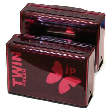 TWNS-17(30) Ароматизатор воздуха в  карманы  дверей  TWIN FRESH  Сакура (100гр х2) (шт.). FKVJP (TWNS-17)
