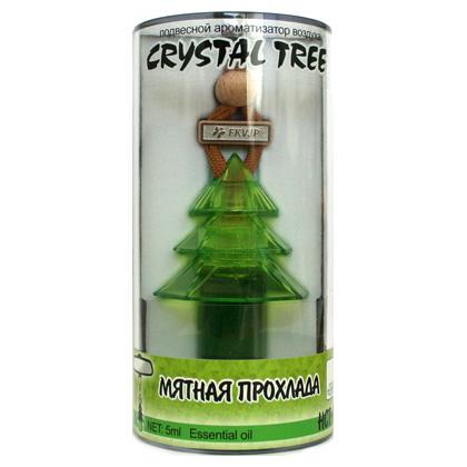 HCT-166(10/40) Ароматизатор воздуха  Crystal Tree  Мятная прохлада (5мл) (шт.). FKVJP (HCT-166)