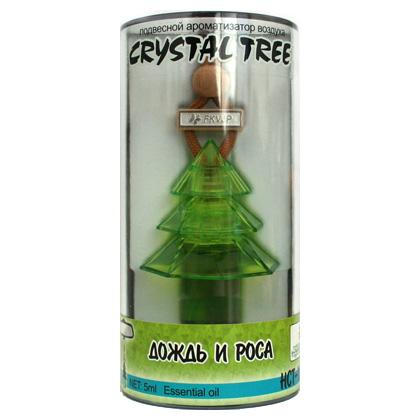 HCT-167(10/40) Ароматизатор воздуха  Crystal Tree  Дождь и роса (5мл) (шт.). FKVJP (HCT-167)