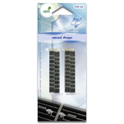 PCLP-113(20/240) Ароматизатор воздуха  Клипса на дефлектор  горный воздух (шт.). FKVJP (PCLP-113)