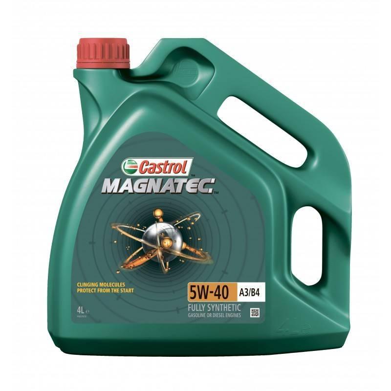 Масло моторное синтетическое  Magnatec A3/B4 5W-40  NEW, 4л. Castrol (4008177079948)