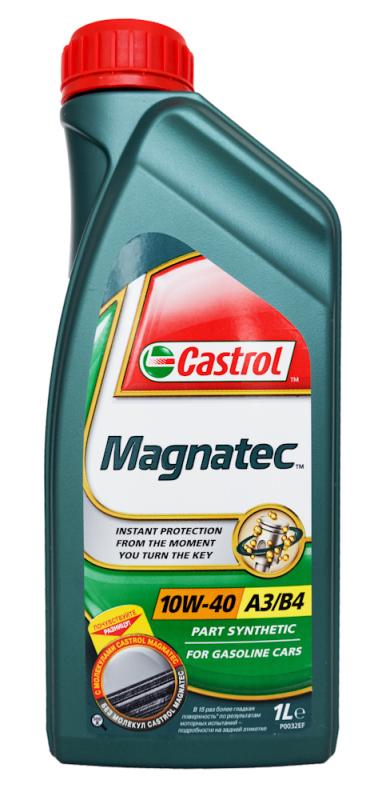 Масло моторное полусинтетическое  Magnatec A3/B4 10W-40 , 1л. Castrol (4260041010895)