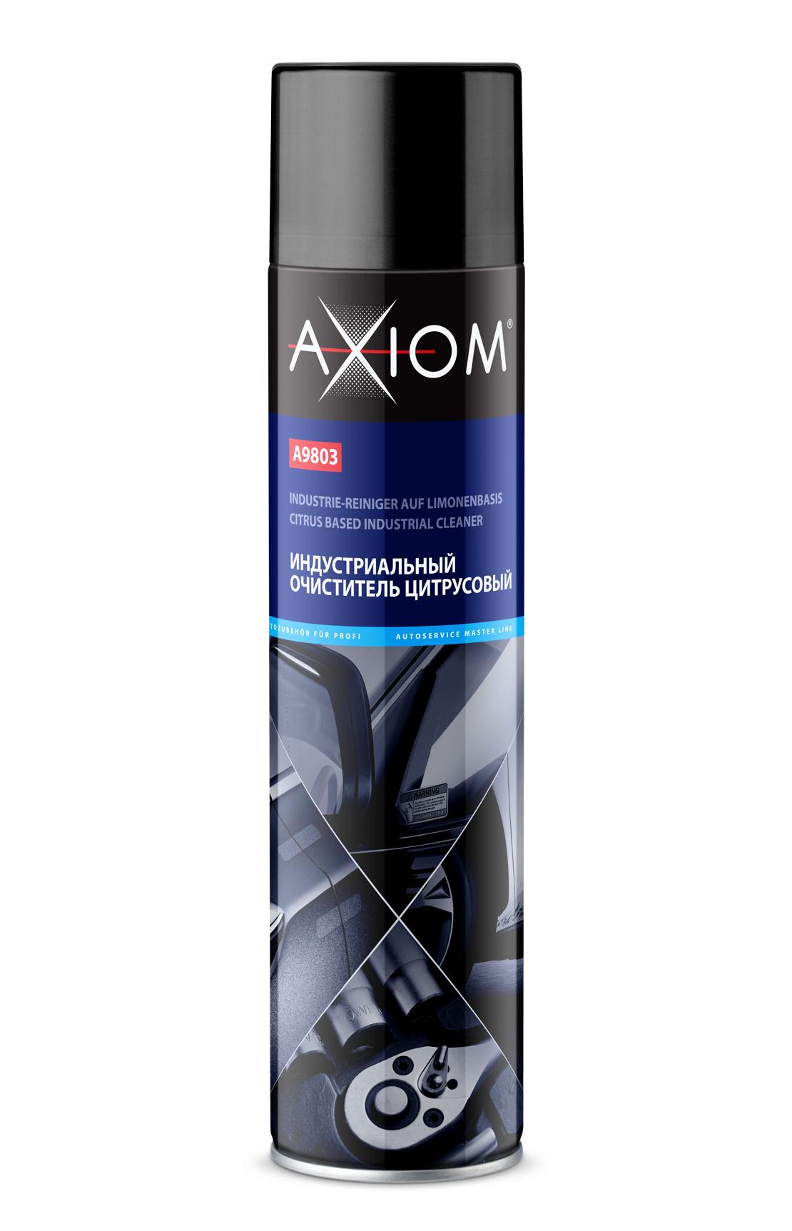 Индустриальный очиститель цитрусовый 800 мл. AXIOM (A9803)