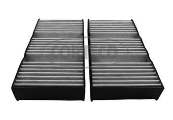 Фильтр салона (угольный комплект 2шт). Corteco (80004552)