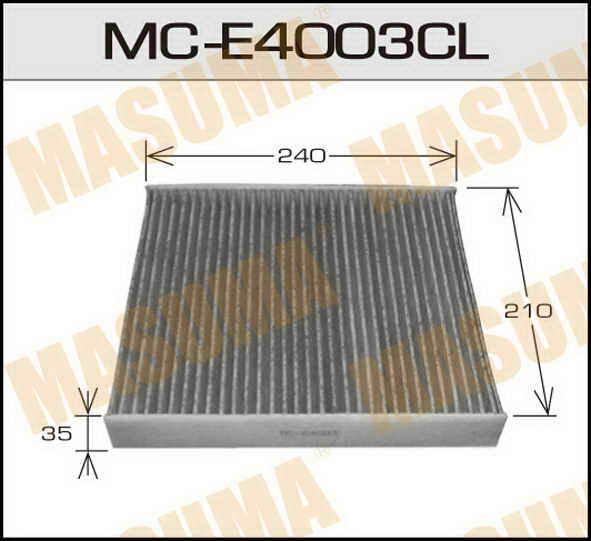 Воздушный фильтр Салонный Ford Mondeo, Focus S-MAX  Masuma  (1/40). (MC-E4003CL)