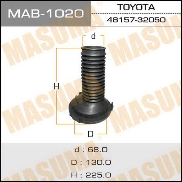 Пыльник стоек  Masuma  129х69хВысота 220. (MAB-1020)