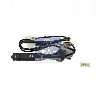 Подрулевой переключатель LHD O 303, O 404 (повортики, ближний/дальний, щетки, сигнал). Diesel Technic (461340)