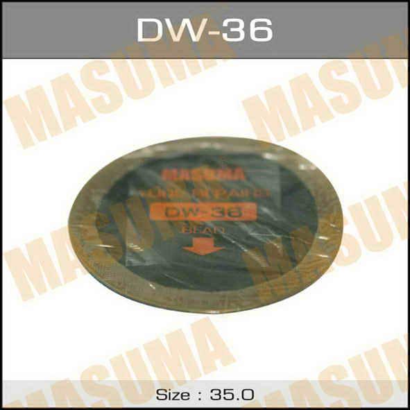 Заплатки  Masuma  камер, D35mm к-т 5шт.. (DW-36)