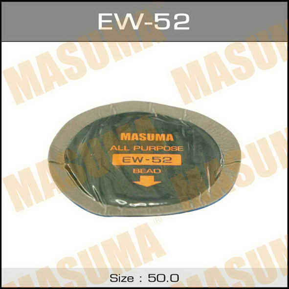 Заплатки  Masuma  универсальные, D50mm к-т 5шт.. (EW-52)