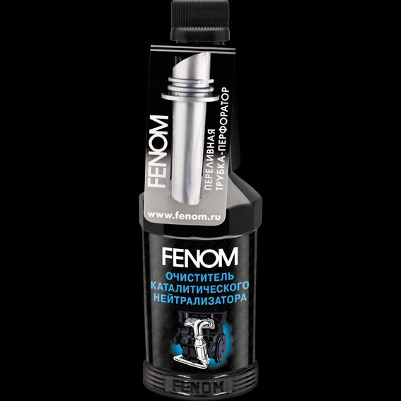 Очиститель каталитического нейтрализатора FENOM FENOM CATALYTIC CONVERTER NANOCLEANER 300 мл. (FN1250)