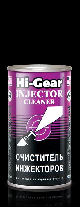 Очиститель инжекторов ударного действия Hi-Gear INJECTOR CLEANER 295 мл.. (HG3215)
