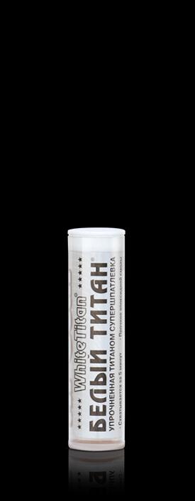 Белый Титан - сверхпрочная полимерная клей-шпатлевка с титановым наполнителем Hi-Gear WHITE TITAN. (HG6502)