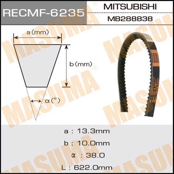 Ремень клиновидный  Masuma  рк.6235 (13x597)