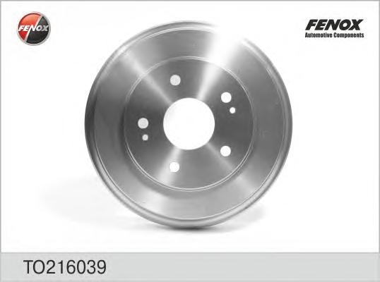 Барабан тормозной. FENOX (TO216039)
