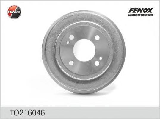 Барабан тормозной. FENOX (TO216046)