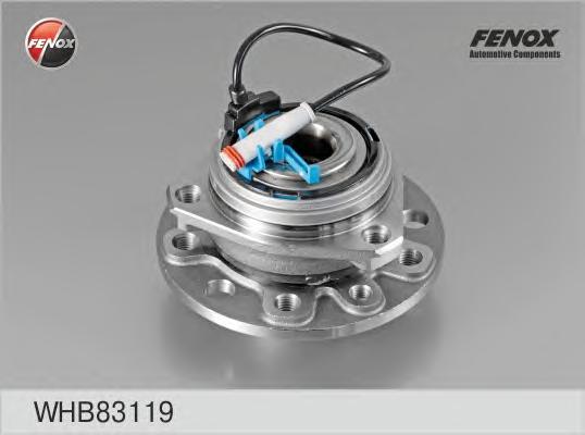 Комплект подшипника ступицы передней со ступ., 5 болтов,c ABS. FENOX (WHB83119)
