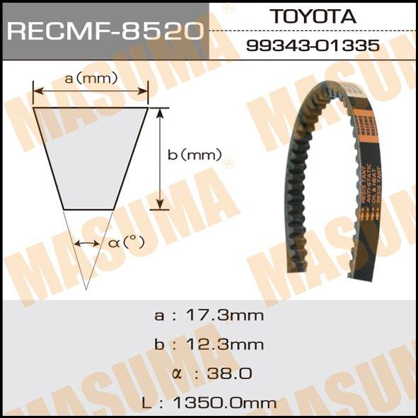 Ремень клиновидный  Masuma  рк.8520 17x1321