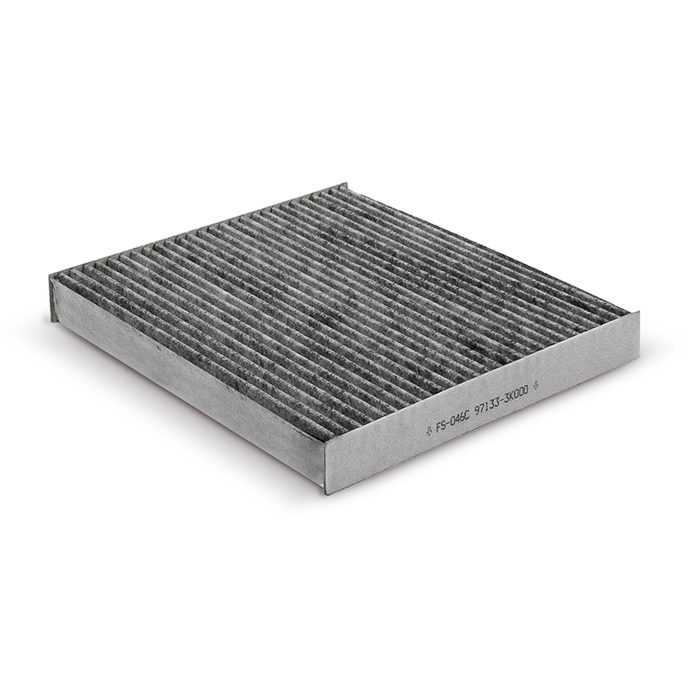 Фильтр салонный угольный. Fortech (FS046C)