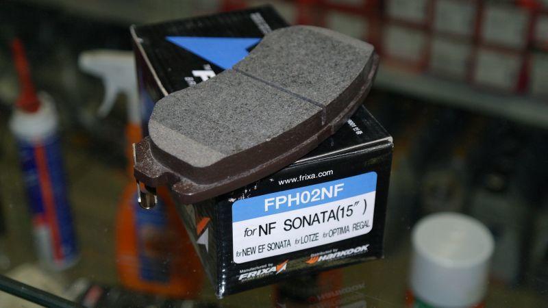Колодки тормозные (дискового тормоза). Hankook Frixa (FPH02NF)