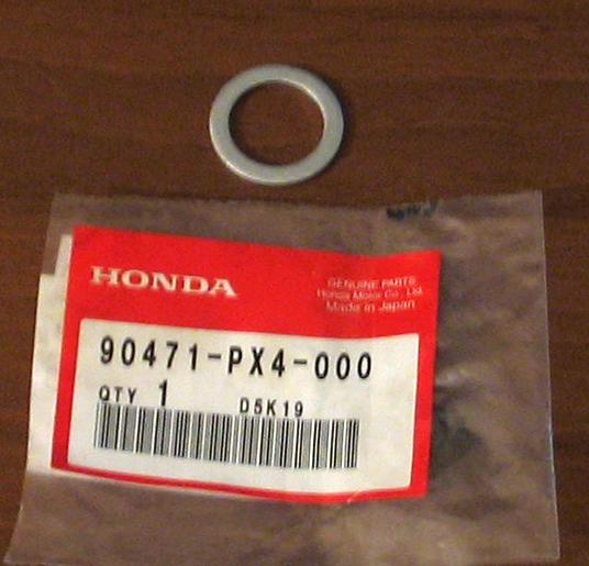 Прокладка сливной пробки поддона двигате. HONDA (90471PX4000)