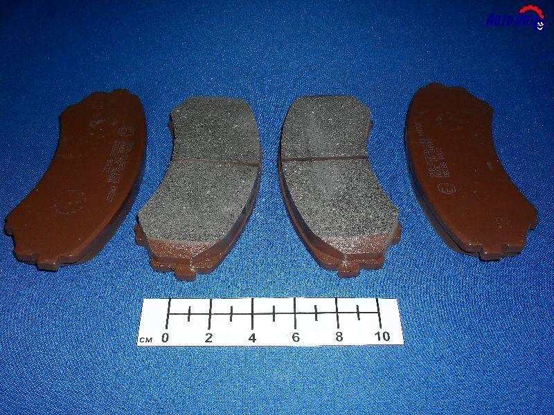 Колодки дисковые передние. Kashiyama (D6085)